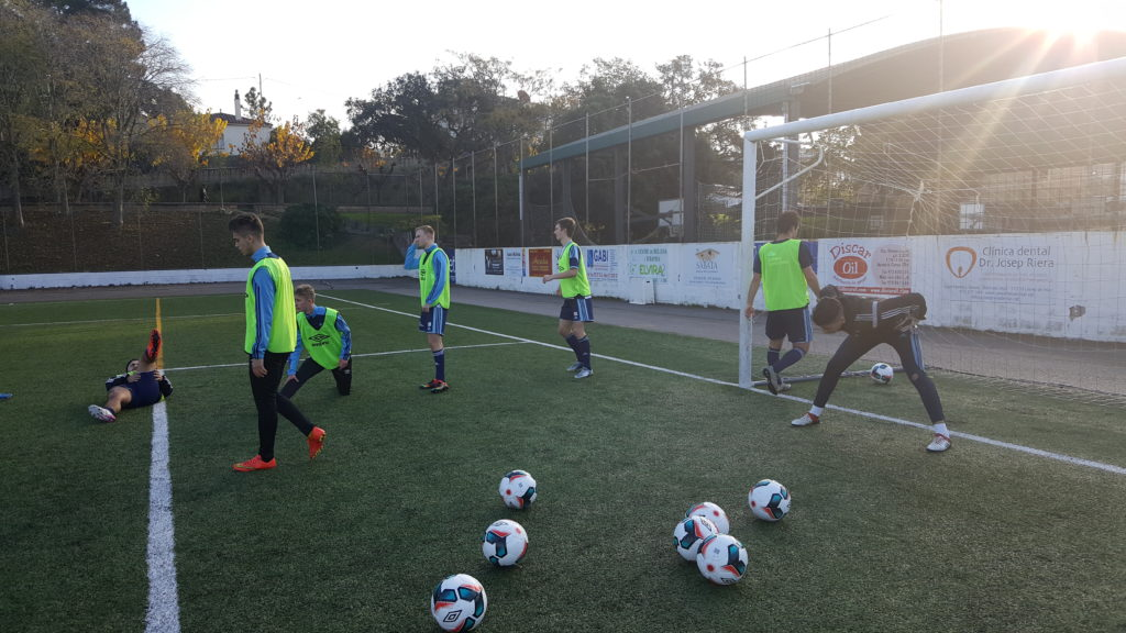 träningsläger fotboll Lloret de Mar