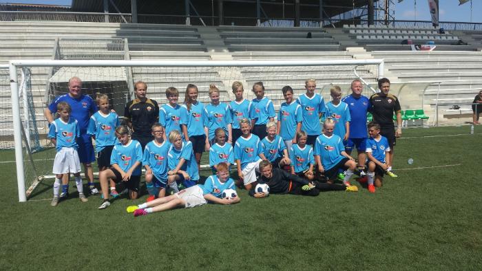 Football Camp 2016 deltagarna
