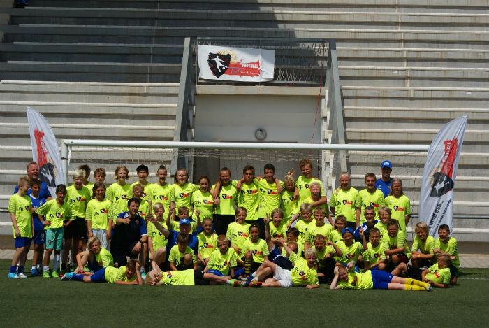 Deltagare 2017 års Footbll Camp