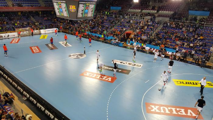 träningsläger handboll spanien